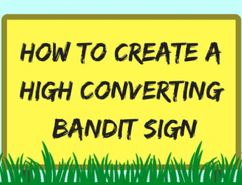 How to Create a High Converting Bandit Sign