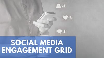 Social Media Engagement Grid