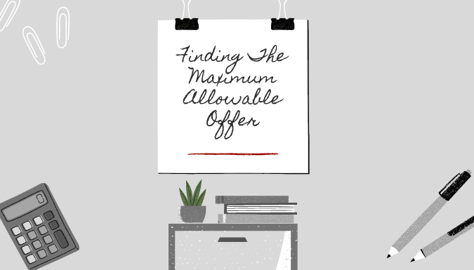 maximum allowable offer for real estate
