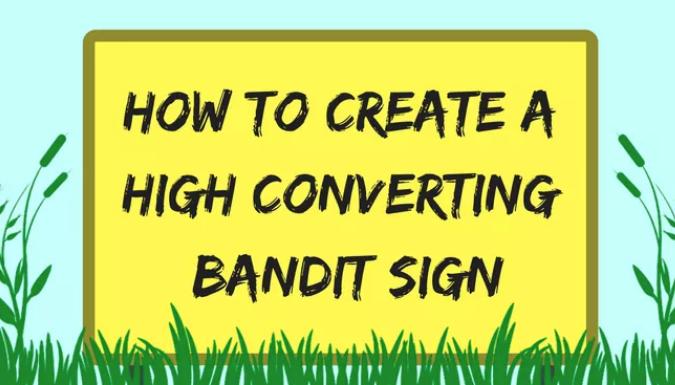 bandit sign